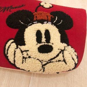 Japan Disney Minnie cosmetic bag